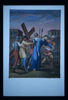 Image from object titled Lazec - Cerkev sv. Jurija (Križev pot), fotografija