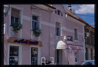 Image from object titled Slovenska Bistrica - Hiša Trg Alfonza Šarha 12, fotografija