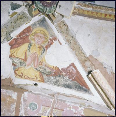 Image from object titled Sedlo - Cerkev sv. Križa na pokopališču, fotografija