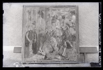 Image from object titled Grad v Prekmurju - Cerkev Marijinega Vnebovzetja, gotski krilni oltar, fotografija