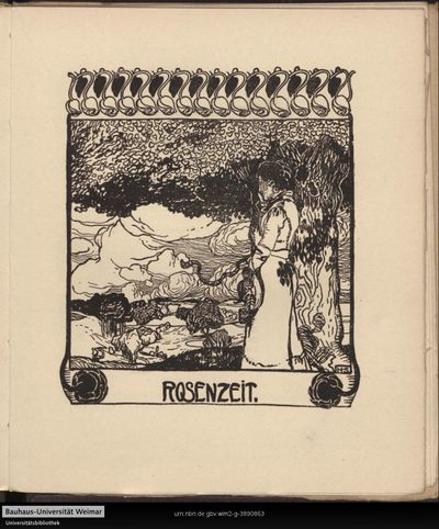 Image from object titled Rosenzeit.