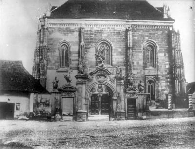 Image from object titled Portal baroc (Biserica Romano-Catolică Sfântul Mihail); Barokk fogadalmi kapu (Szent Mihály-templom)