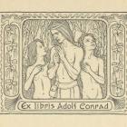 Ex libris - Adolf Conrad