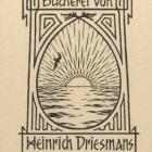 Ex libris - Heinrich Driesmans