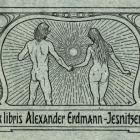 Ex libris - Alexander-Erdmann-Jesnit.