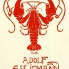 Ex libris - Adolf Essigmann