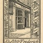 Ex libris - Frederick Bernard Palmer