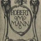 Ex libris - Robert M Mann