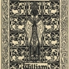 Image from object titled Ex libris - William Snelling Hadaway
