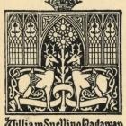 Ex libris - William Snelling Hadaway