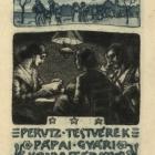 Ex libris - Perutz Testvérek, Pápa