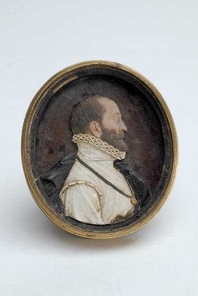 Viaszdombormű - II. Alfonz ferrarai herceg
