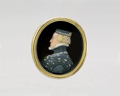 Viaszdombormű - Habsburg Borbála osztrák főhercegnő