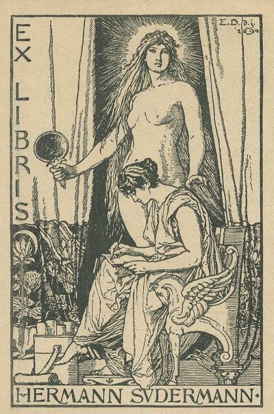 Ex libris - Hermann Sudermann