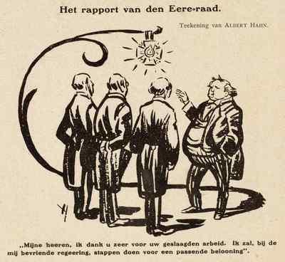 Image from object titled Het rapport van den Eere-raad
