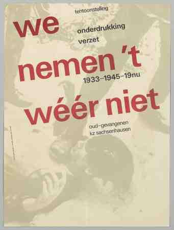 Image from object titled We nemen 't wéér niet