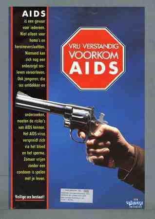 Vrij verstandig Voorkom aids