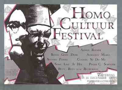 Image from object titled Homo cultuur festival