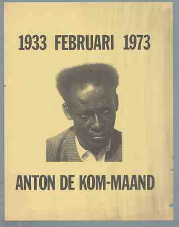 Anton de Kom-maand