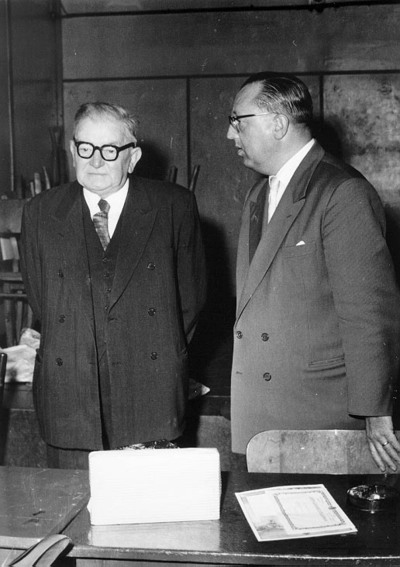 John Lauwereins en Honoré D'Hoedt