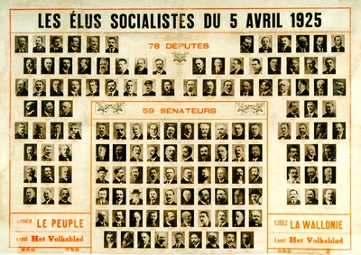 Image from object titled Les élus socialistes du 5 avril 1925