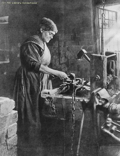 Image from object titled Chain Maker, c. 1910