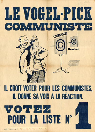Image from object titled Le vogel-pick communiste
