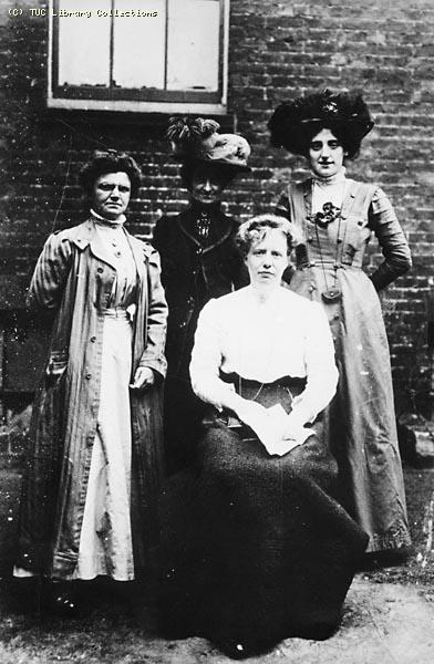 Image from object titled National Federation of Women Workers organisers, c. 1908
