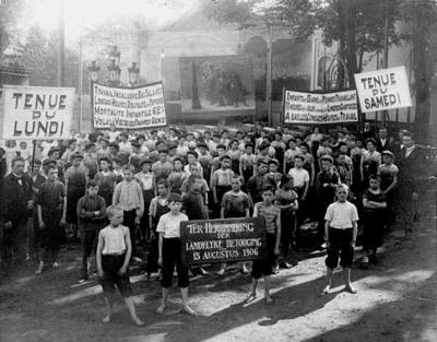 Betoging tegen kinderarbeid