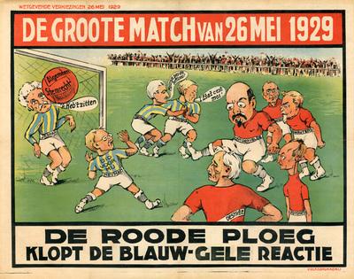 De groote match van 26 mei 1929
