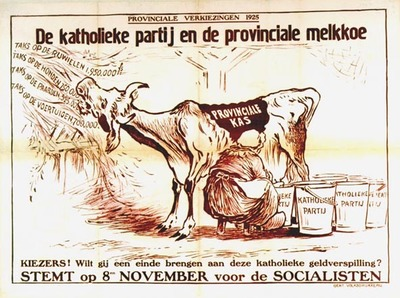 De katholieke partij en de provinciale melkkoe