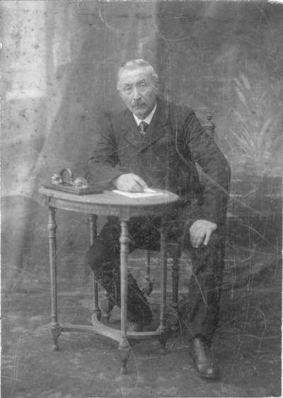 Portret van André Van der Meirsch