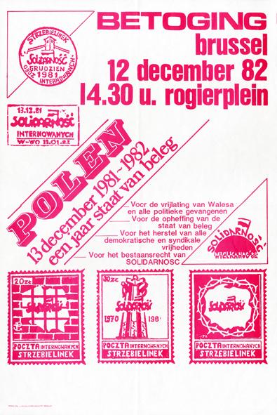 Polen 13 december 1981-1982 een jaar staat van beleg