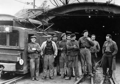 Arbeiders van de spoorwegen