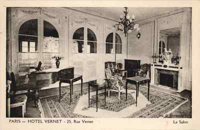 Image from object titled Paris - Hotel Vernet
