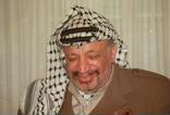 Porträt Führer der Palästinensischen Befreiungsorganisation (PLO) Yassir Arafat