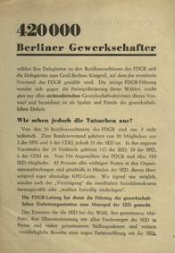420000 Berliner Gewerkschafter