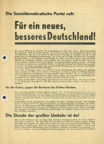 Für ein neues, besseres Deutschland