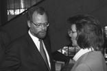 Gruppenaufnahme mit Ministerpräsident Rheinland-Pfalz Rudolf Scharping und Mitglied SPD-Parteivorstand Heidemarie Wieczorek-Zeul