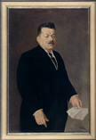 Porträt Reichspräsident Friedrich Ebert