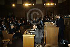 Gruppenaufnahme mit Bundeskanzler a.D. Helmut Schmidt