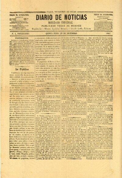 Image from object titled Diário de notícias: noticiário universal