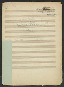 Image from object titled Romanza dell'Opera L'Assedio di Firenze   Bottesini