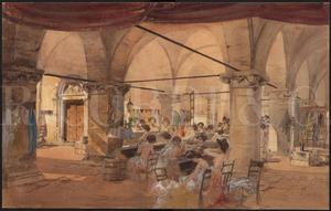 Image from object titled Materiali per l'allestimento: Conchita. Opera in quattro atti. Milano, Teatro Dal Verme, 14-10-1911