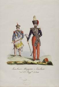 Image from object titled Tamburo maggiore e tamburo...