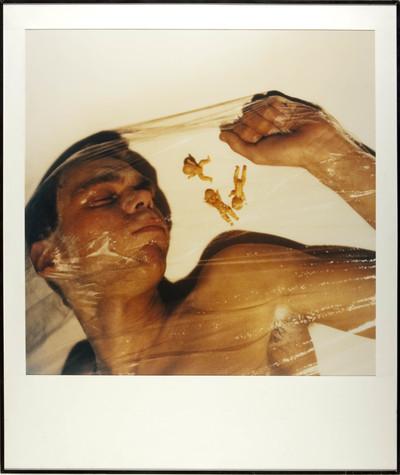 Image from object titled Foto. Vergroting Polaroid 3x - 70. In lijst. 1983. Hoort bij vrm 05061 t/m 05064.