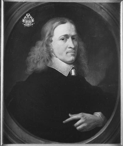 Schilderij met een Portret van Dr. Vulckert Swaen, burgemeester van Nijmegen (1615-1691/92).