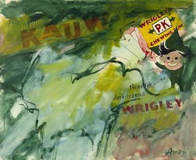 In 1961 verbleef Woody van Amen twee jaar in New York, waar hij in contact kwam met avant-gardekunstenaars die in deze jaren de omwenteling doormaakten van het abstract-expressionisme naar de Pop Art. Van Amen was geboeid...