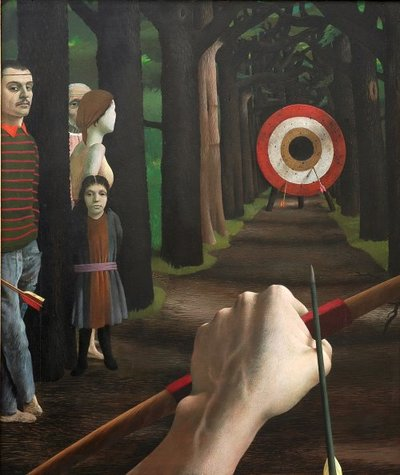 Het werk van Pyke Koch wordt gekenmerkt door een zeer precies realisme. De typische combinaties van motieven en subtiele vervormingen roepen een raadselachtige sfeer op. In zijn werk staat de mens centraal. Daarnaast hecht...