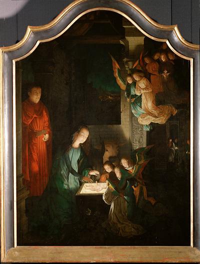 Image from object titled Geburt Christi